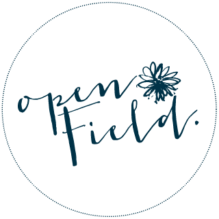openFieldphotography. logo